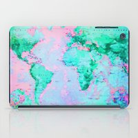 wanderlust iPad Cases featuring Wanderlust by ALLY COXON