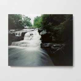 Shohola Falls Flow, Medium Format Metal Print