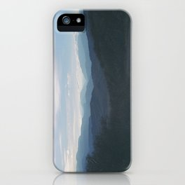 rabbit mountain (3) iPhone Case