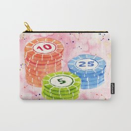 Candy Poker Carry-All Pouch