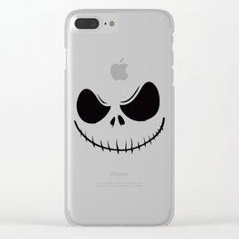 SKELLINGTON Clear iPhone Case