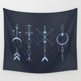 Geometric Arrows - Native American Sioux Wall Tapestry