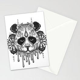 Blacksilver Panda Spirit Stationery Cards