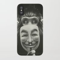 peace iPhone & iPod Cases featuring Anonymous by Dr. Lukas Brezak