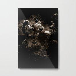 Orbs Under the Sea Metal Print