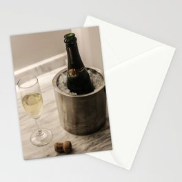 Champagne Stationery Cards