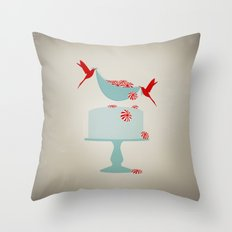 newly minted Throw Pillow