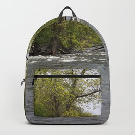 Springtime on the Fox River Backpack