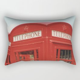 London Telephone Box Rectangular Pillow