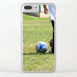 Soccer Clear iPhone Case