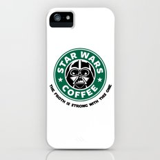 Star Wars Coffee iPhone (5, 5s) Slim Case
