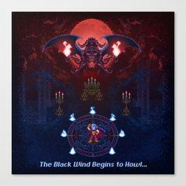 The Black Wind Canvas Print