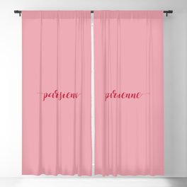 Parisienne Blackout Curtain