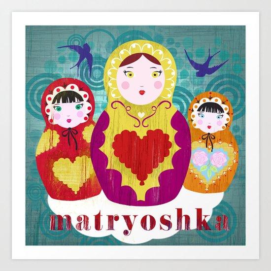 matryoshkas Art Print