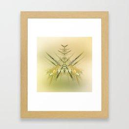 Fliege Framed Art Print