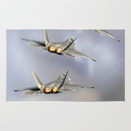 F-22 raptor Rug