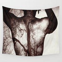 anatomy Wall Tapestries featuring Anatomy by Fred Byrd Photo