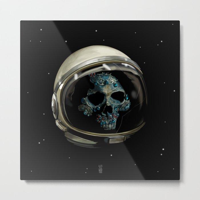 Holy Starman Skull II Metal Print