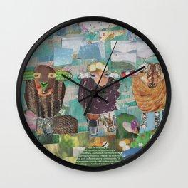 Three Wanderers Wall Clock