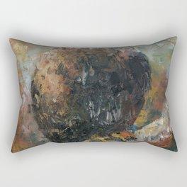Bald Eagle on Birch Rectangular Pillow
