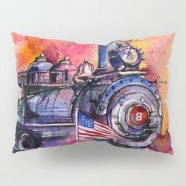 American Train by Kathy Morton Stanion Pillow Sham