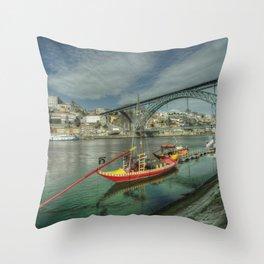 Porto Classic Throw Pillow