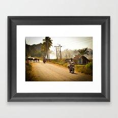 Hampi Framed Art Print