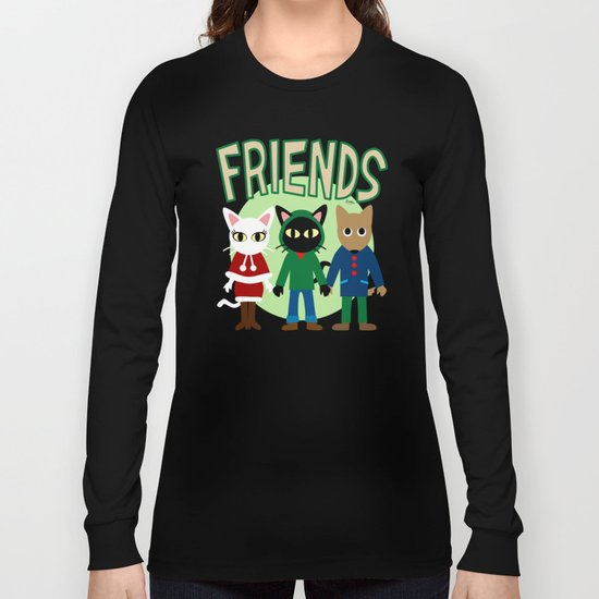 Whim's Friends Long Sleeve T-shirt