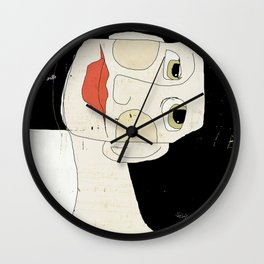 LE FOU DU VILLAGE Wall Clock