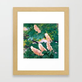 """Koloman (Kolo) Moser """"Chestnut flowers"""" Framed Art Print"""