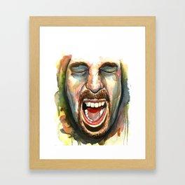 JB! Framed Art Print