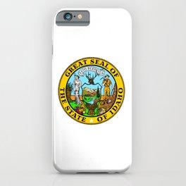Idaho State Seal iPhone Case
