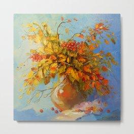 Bouquet of autumn Metal Print