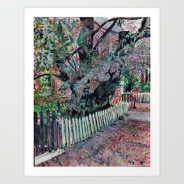 Honorable Yoshiko Cherry Tree Art Print