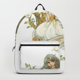 Colourful Seasons in the Forest Beautiful Childhood Fairytale Backpack