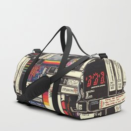 Cassettes, VHS & Games Duffle Bag