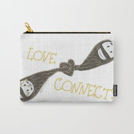 Love Connects Carry-All Pouch