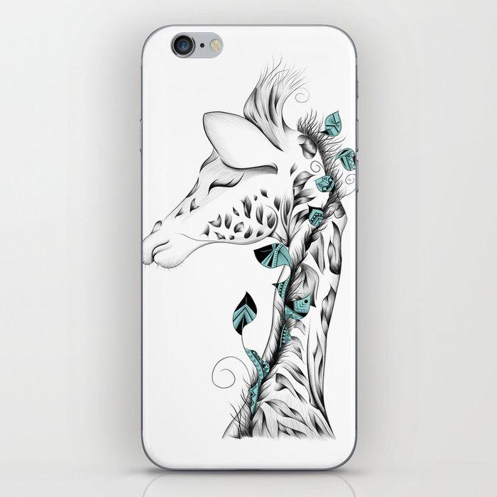 Poetic Giraffe iPhone Skin