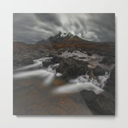 The Hills Of Cuillin Metal Print