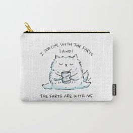 I Am One With The Farts And The Farts Are With Me Carry-All Pouch