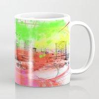 skyline Mugs featuring Skyline by Fine2art