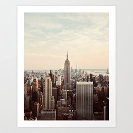 Empire Views Art Print