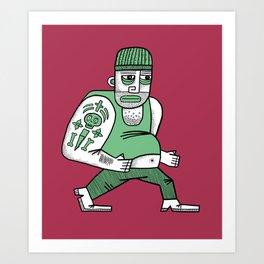 Thug Art Print