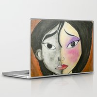 mulan Laptop & iPad Skins featuring Mulan by Jgarciat
