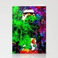 stormtrooper Stationery Cards featuring Stormtrooper   by Saundra Myles