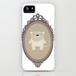 sweet wolf iPhone Case