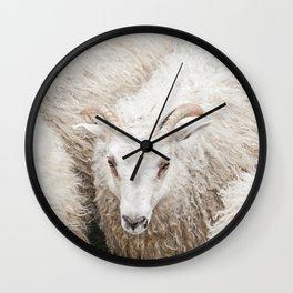 The Fluff Wall Clock