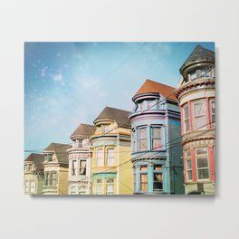 Rainbow Road Metal Print