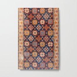 Tuduc Romanian Holbein Carpet Replica Print Metal Print