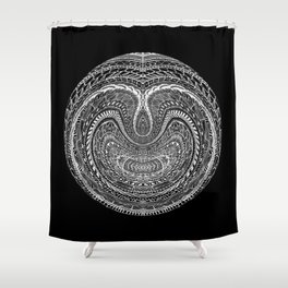 Tangled Orb Shower Curtain